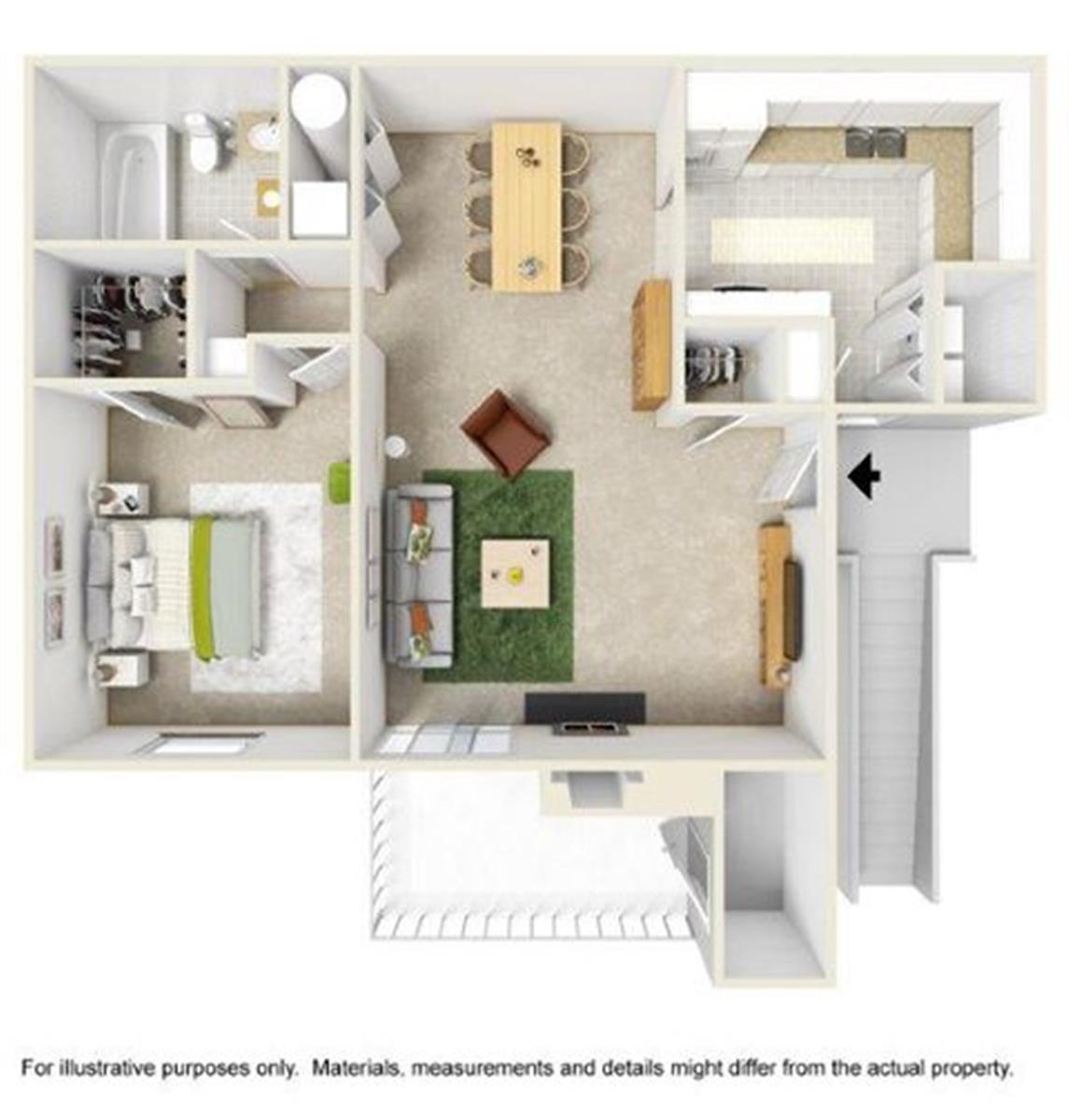 Apartment In Ridgeland, MS